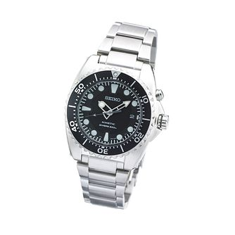 Seiko Kinetic Men's Stainless Steel Bracelet Watch - Product number 5928516