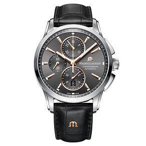 Maurice Lacroix Pontos Men's Stainless Steel Strap Watch - Product number 5928842