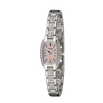 Pulsar Ladies' Stone-Set Bracelet Watch - Product number 5928923