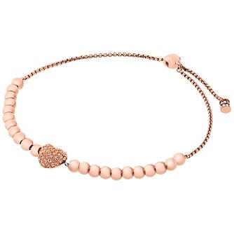 Michael Kors Rose Gold Tone Slider Bracelet - Product number 5937183