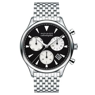 Movado Heritage Men's Stainless Steel Bracelet Watch - Product number 5962498