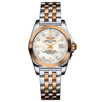 Breitling Galactic 29 Ladies' Two-Tone Bracelet Watch - Product number 6007066