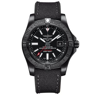 Breitling Avenger II GMT Men's Stainless Steel Strap Watch - Product number 6007120