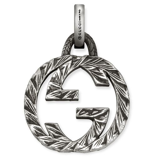 Gucci Sterling Silver Logo Charm - Product number 6008569