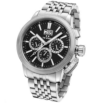 T.W Steel Adesso Men's Stainless Steel Bracelet Watch - Product number 6010393