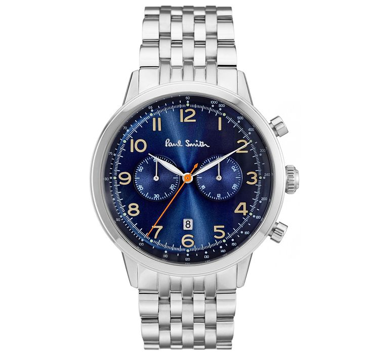Paul Smith Precision 42mm Men's Stainless Steel Watch - Product number 6043410