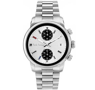 Paul Smith Block 43mm Men's Stainless Steel Bracelet Watch - Product number 6048706