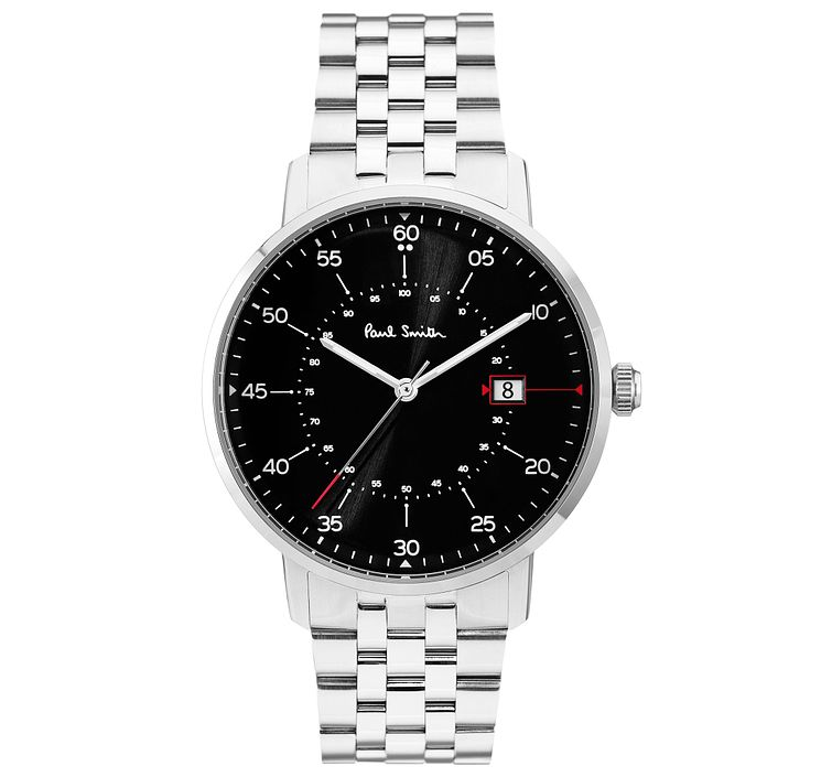Paul Smith Gauge 41mm Men's Stainless Steel Bracelet Watch - Product number 6049087