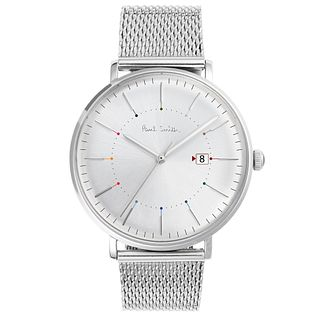 Paul Smith Track 41mm Men's Stainless Steel Bracelet Watch - Product number 6049222