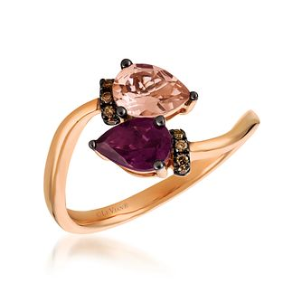 14ct Strawberry Gold Pomegranate Garnet Ring - Product number 6055125