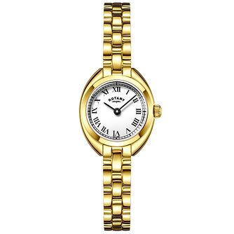 Rotary Ladies' Gold Plated Bracelet Watch - Product number 6076661