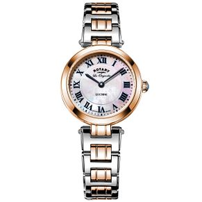 Rotary Ladies' Lucerne Two Tone Bracelet Watch - Product number 6077420