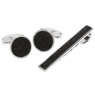 Simon Carter Men's Tie Clip Cufflinks Gift Set - Product number 6080693