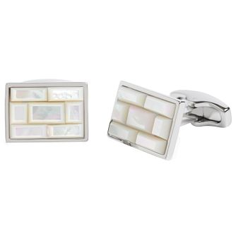 Simon Carter Mother of Pearl Cufflinks - Product number 6080804