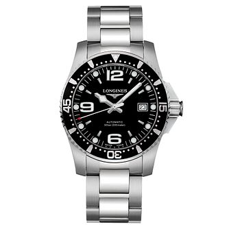 Longines HydroConquest Men's Black Dial Bracelet Watch - Product number 6081207