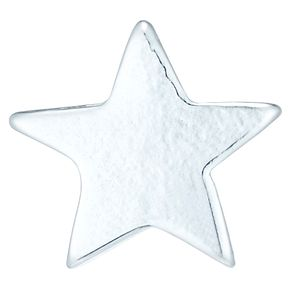 Sterling Silver Plain Star Single Stud Earring - Product number 6081355