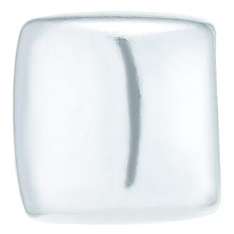 Sterling Silver 3mm Square Single Stud Earring - Product number 6081789