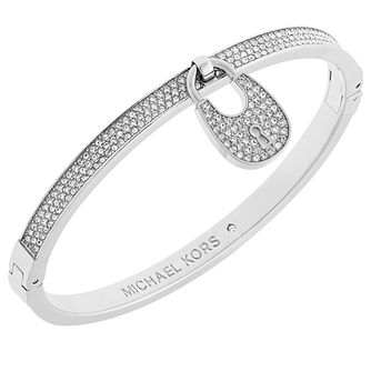 Michael Kors Stainless Steel Padlock Bangle - Product number 6094325