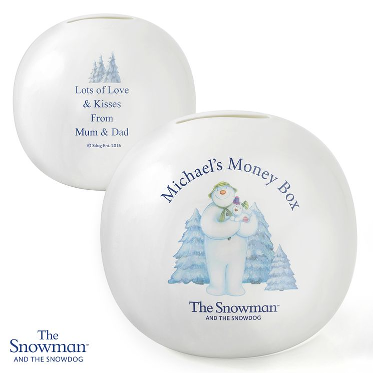 The Snowman and the Snowdog Money Box - Product number 6095429