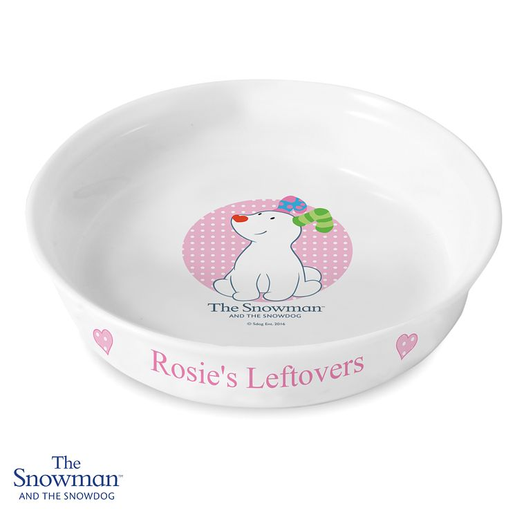 The Snowdog Pink Pet Bowl - Product number 6095445
