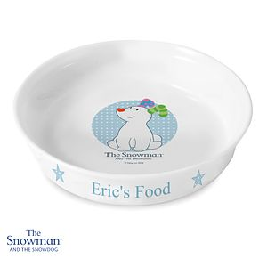 The Snowdog Blue Pet Bowl - Product number 6095453