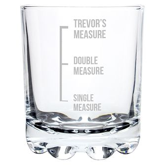 Engraved Measures Whisky Glass - Product number 6098363