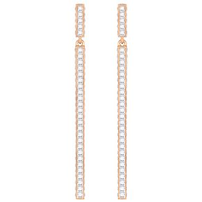 Swarovski Game Rose Gold Plated Drop Earrings - Product number 6100589