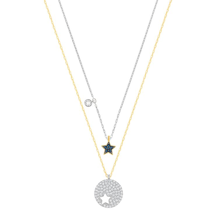 Swarovski Crystal Wishes Two Colour Star Pendant - Product number 6100635
