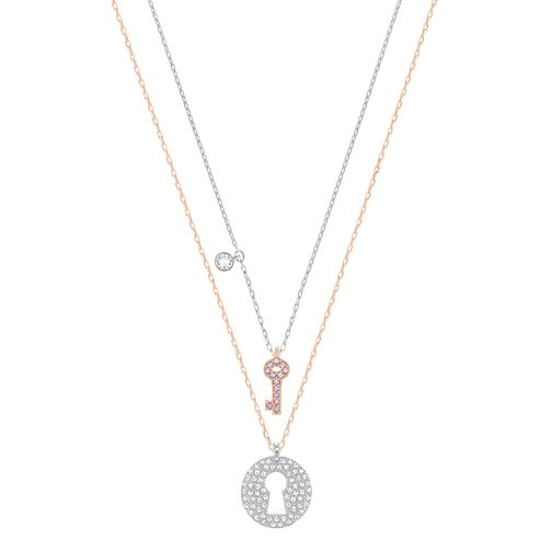 Swarovski Cystal Wishes Two Colour Key Pendant Set - Product number 6100708