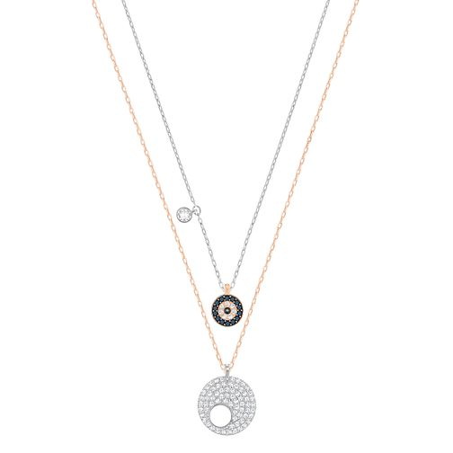 Swarovski Crystal Wishes Two Colour Crystal Necklace - Product number 6100716