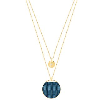 Swarovski Ginger Gold Plated Pendant - Product number 6100740
