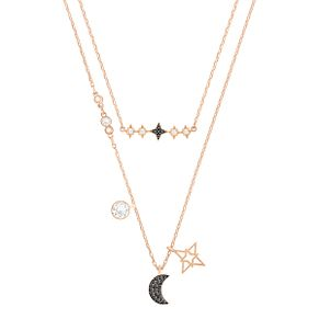 Swarovski Glowing Gold Plated Necklace Set - Product number 6100759