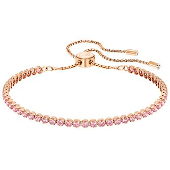 Swarovski Subtle Rose Gold Plated Bracelet - Product number 6100961