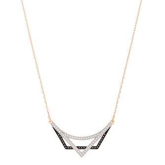 Swarovski Geometry Rose Gold Plated Necklace - Product number 6101062