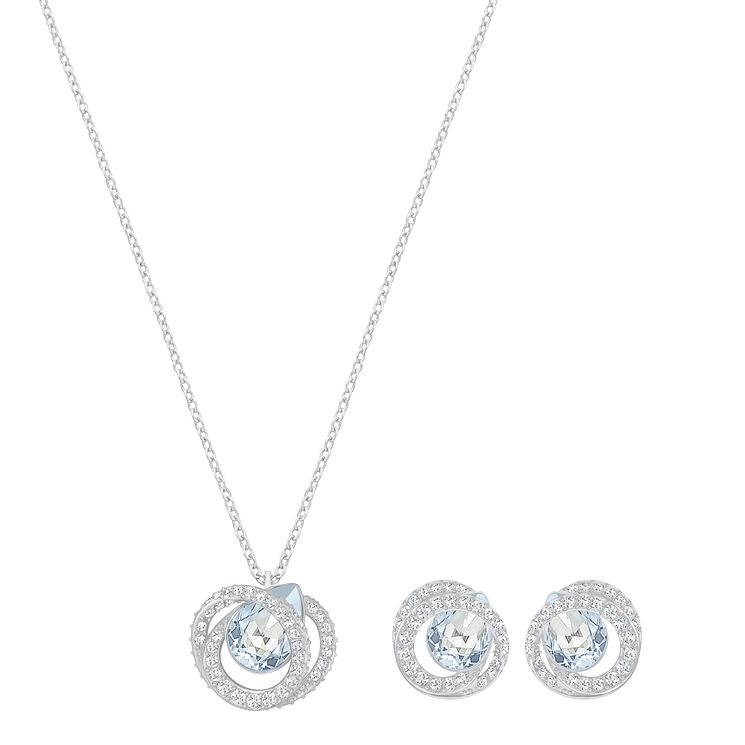 Swarovski Generation Pendant and Earring Set - Product number 6101216