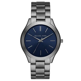 Michael Kors Men's Ion Plated Bracelet Watch - Product number 6103790