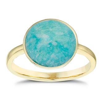 amazonite rg in lnsr sterling silver amz rings with stone on monica vermeil gold vinader gp ring linear