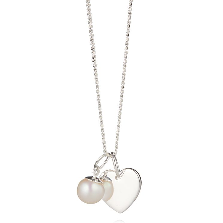 Molly Brown Sterling Silver My First Pearl Necklace - Product number 6116493