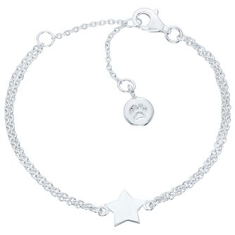 Molly Brown Sterling Silver Star Charm Bracelet - Product number 6116515