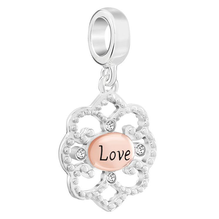 Chamilia Forever Love Filigree Sterling Silver Charm - Product number 6128289