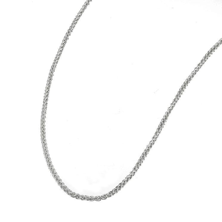 "Sterling Silver 20"" Spiga Necklace - Product number 6131719"
