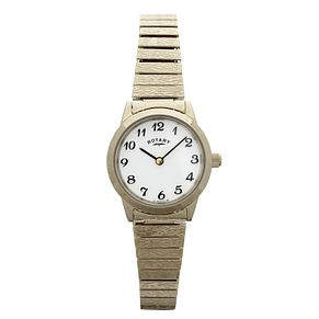 Rotary Ladies' Gold-Plated Watch - Product number 6141013
