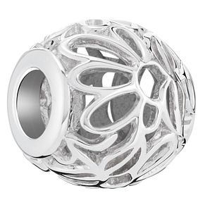 Chamilia Sterling Silver Openwork Floral Bead - Product number 6142796