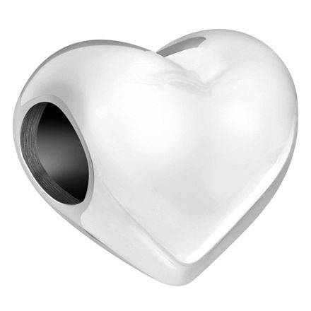 Chamilia Sterling Silver Heart Bead - Product number 6142915