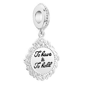 Chamilia Sterling Silver To Have & To Hold Charm - Product number 6142923