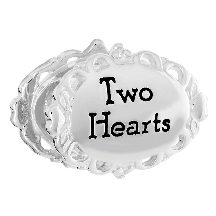 Chamilia Sterling Silver Two Hearts One Love Bead - Product number 6142966