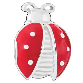 Chamilia Sterling Silver Red Ladybug Bead - Product number 6143245