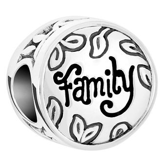 Chamilia Sterling Silver Family Disc Charm - Product number 6143253