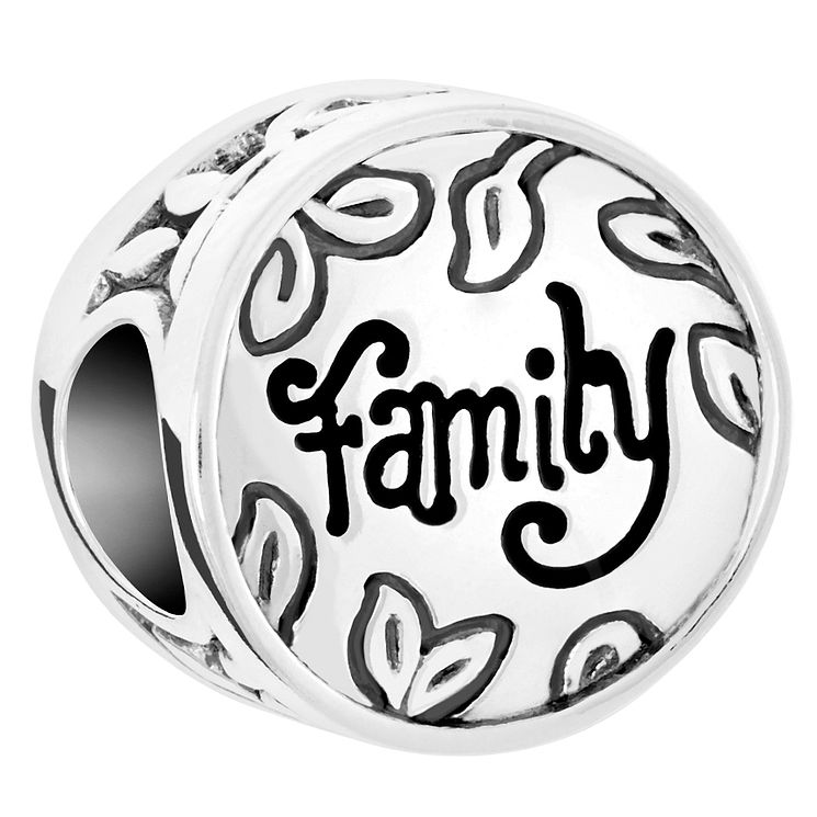 Chamilia Sterling Silver Family Disc Bead - Product number 6143253
