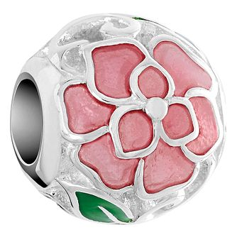 Chamilia Sterling Silver Roses Are Charm - Product number 6143369
